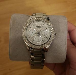 Fossil Women's Silver Watch